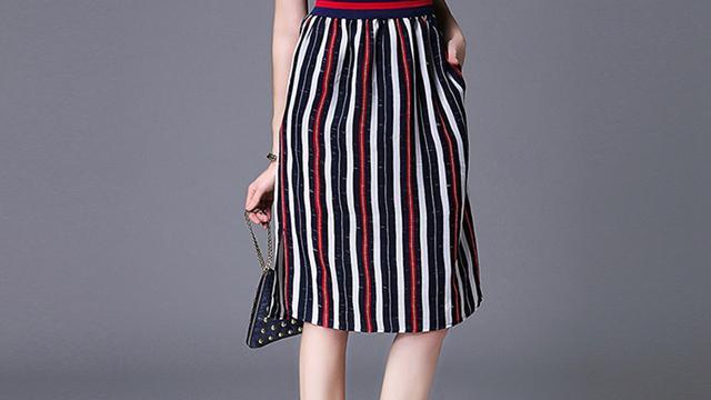 2 tips memilih fashion berpakaian wanita atau perempuan untuk tubuh gemuk pendek buncit