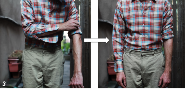 bagian lengan pada kaos tshirt
